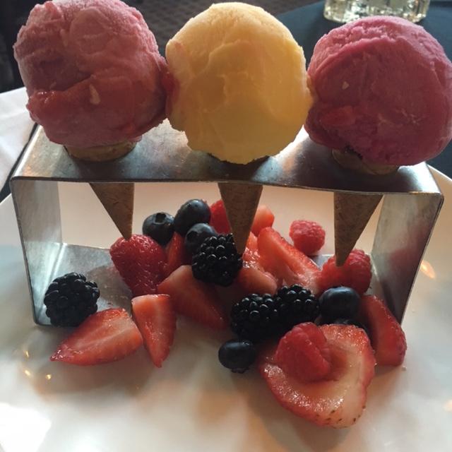 {Fresh Fruit Sorbet}